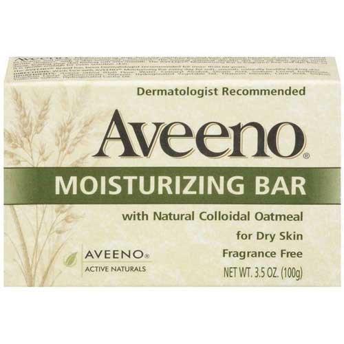 Johnson & Johnson 3623 Aveeno Moisturizing Bar, Fragrance Free (Pack of 24)