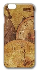 Clock Antique Arrow Texture Custom iphone 6 plus 5.5 inch Case Cover Polycarbonate 3D