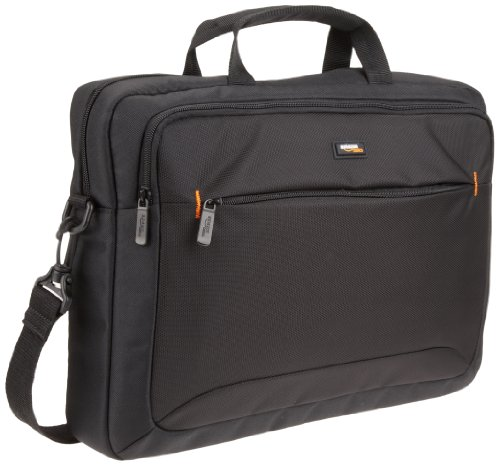 AmazonBasics 15.6-Inch Laptop Computer and Tablet Shoulder Bag Carrying Case (Hp Slim Ultrabook Thin And Light Backpack)