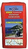 Tourenkarten Set Kroatien Slowenien (FolyMaps): 1:250 000