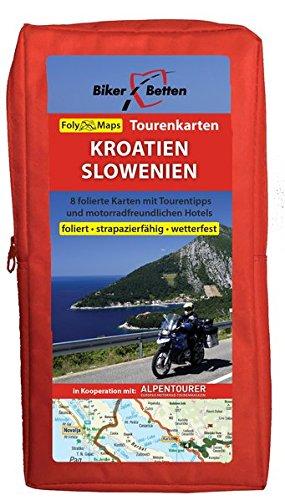 Tourenkarten Set Kroatien Slowenien (FolyMaps): 1:250 000 Landkarte – 1. Dezember 2015 TVV Touristik-Verlag GmbH 3937063161 Karten / Stadtpläne / Europa Reiseführer Sport / Europa