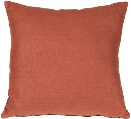 PILLOW D COR Tuscany Linen Sienna 20×20 Throw Pillow
