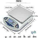 CGOLDENWALL Lab Scale 10kgx0.1g Digital Precision