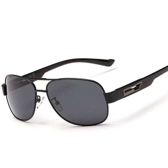 gafas de sol de los hombres/gafas polarizadas/Espejo de rana/Espejo de