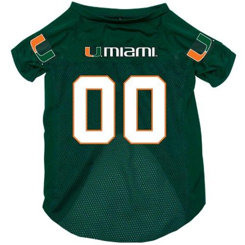 meet 44117 8d20b Amazon.com : NCAA Miami Hurricanes Pet Jersey, : Sports ...