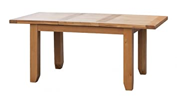 Extending Dining Table Acorn Solid Oak Extending Table Small