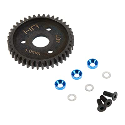 Hot Racing SRVO440 Steel Spur Gear (40T 1.0 Mod)(Blue) - Traxxas: Toys & Games