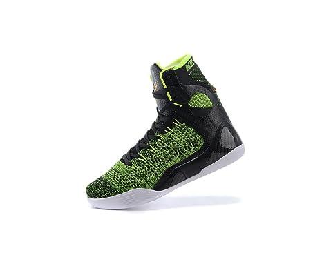 para Hombre Zoom Kobe Zapatos Alta Kobe IX Elite Zapatillas de ...