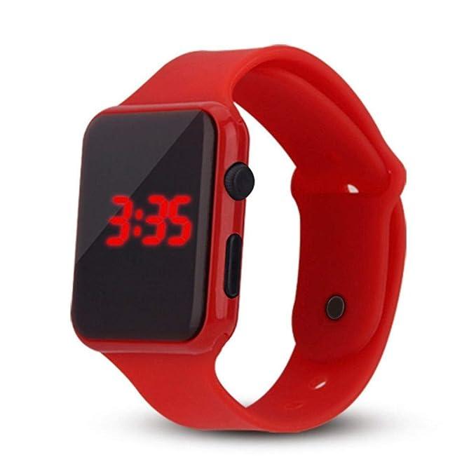 Rcool Relojes suizos relojes de lujo Relojes de pulsera Relojes para mujer Relojes para hombre Relojes deportivos,Reloj deportivo unisex LED digital con ...