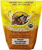 GF Harvest Gluten Free Organic Rolled Oats, 41-Ounce Pouch
