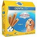 PEDIGREE DENTASTIX Large Dog Chew Treats, Original, 32 Treats