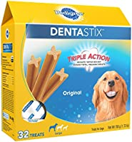 PEDIGREE DENTASTIX Large Dog Chew Treats, Original, (Pack of 32)