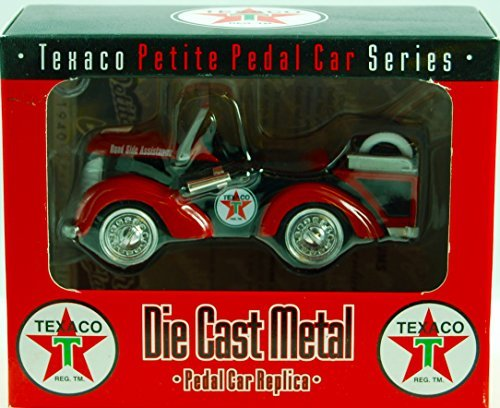 - Texaco Crown Premiums - #PTIRE03 Petite Pedal Car Series - Tire Load Pedal Car Replica - 1:12 Scale - Die Cast - Numbered - OOP / MIB - New - Collectible