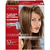 L'Oreal Paris Couleur Experte Express, Medium Golden Brown/Chocolate Macaroon 5.3 (Pack of 3)