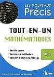 Tout-en-un Mathématiques MPSI