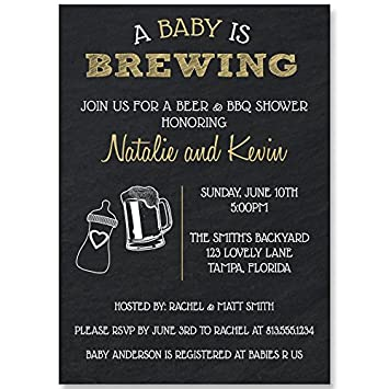 Amazon dadchelor baby shower invitations dad little man dadchelor baby shower invitations dad little man brewery baby brewing craft filmwisefo