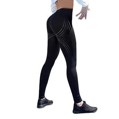 Cintura Alta de Yoga Pantalones, YpingLonk Cadera Leggings ...