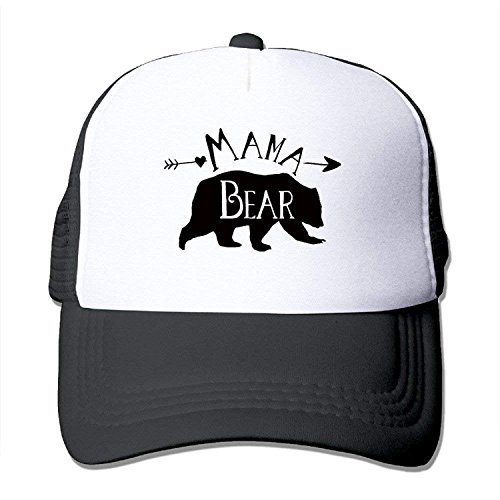 SR-Home Life Koderi Mama Bear Unisex Mesh Strapback Cap Sunscreen It's for -