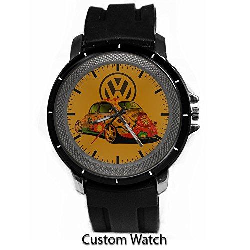 Vw Volkswagen Beetle Hipster Custom Watch