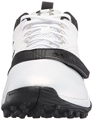 Under Armour Mujeres Lax Finisher Turf Blanco / Negro