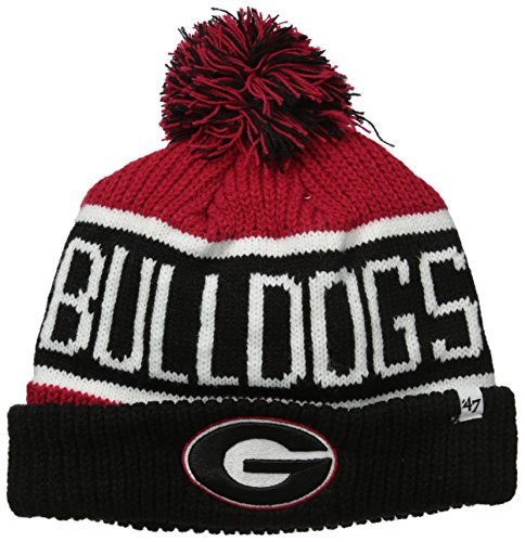 NCAA Georgia Bulldogs Calgary Cuff Knit Hat, One Size, Red (Georgia Bulldog Hats Fitted Men compare prices)