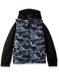 iXTREME Boys Camo Print Vest W/Fleece Hood&Sleeve