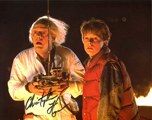 Christopher Lloyd Signed/Autographed Back to the future 8x10 glossy photo portraying Doc Brown. Includes Fanexpo Fanexpo Certificate of Authenticity and Proof. Entertainment Autograph Original.