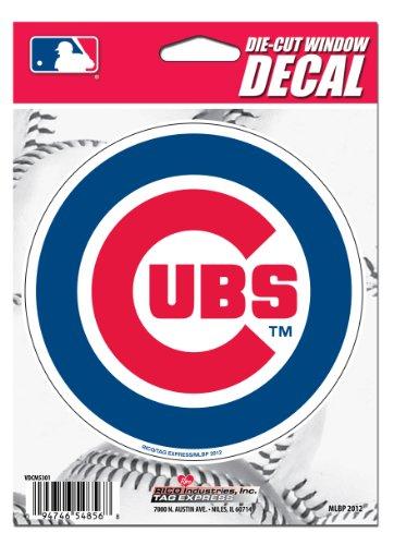 Rico MLB Chicago Cubs Die-Cut Window (Chicago Cubs Sticker)