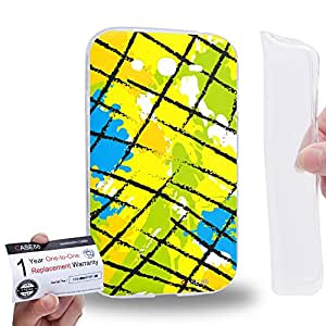 Case88 [Samsung Galaxy Grand Duos i9082 i9080] Gel TPU Carcasa/Funda & Tarjeta de garantía - Art Fashion Patched Up Pattern C
