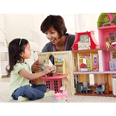 Fisher-Price Loving Family Dollhouse Nursery: Toys & Games