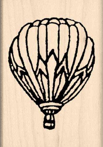 hot air balloon stamp - 9