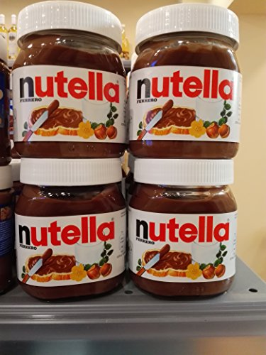 40 Pcs X Nutella Hazelnut Spread 350g 12.4oz, Glass Jar by NUTELLA