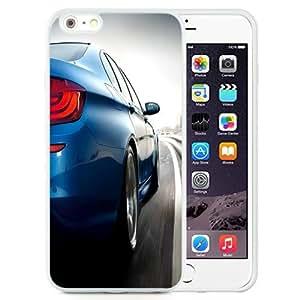 NEW Unique Custom Designed iPhone 6 Plus 5.5 Inch Phone Case With Light Blue BMW M5_White Phone Case wangjiang maoyi