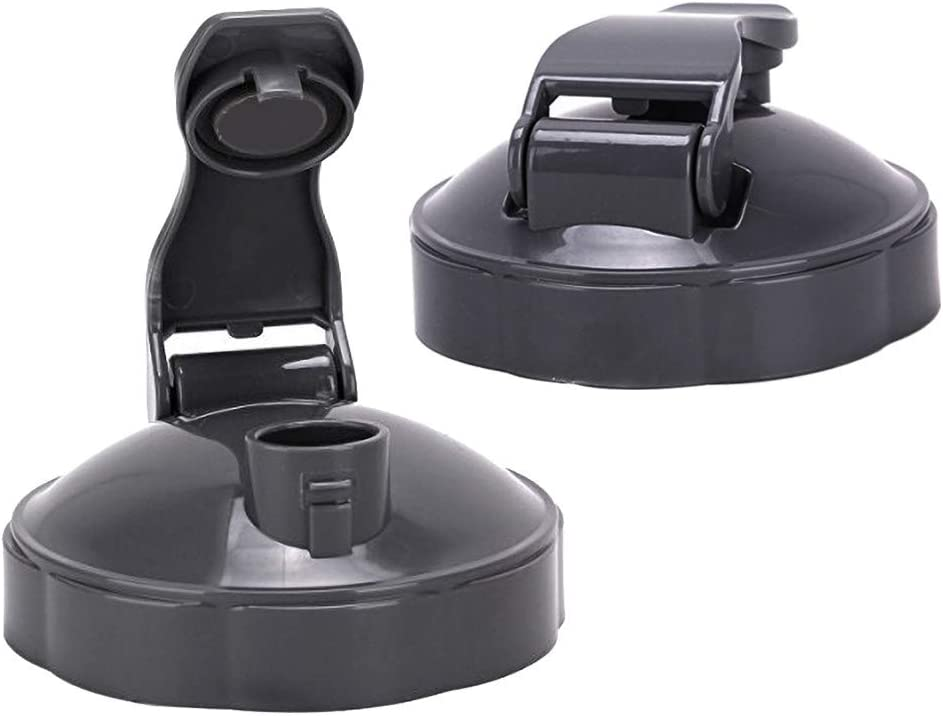 Flip Top To-go Lid, Replacement Parts & Accessories, Preferred Parts for NutriBullet 600w and Pro 900w Blender, 2 Pcs