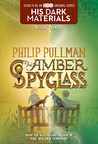His Dark Materials: The Amber Spyglass (Book - 4 Glass Amber