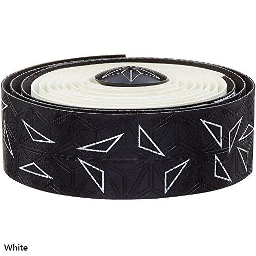 Supacaz Super Sticky Kush Star Fade Bar Tape (White)