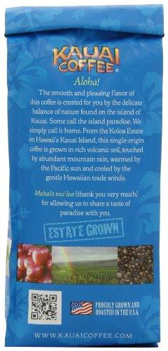 Kauai Coffee Peaberry Whole Bean, 10 Ounce