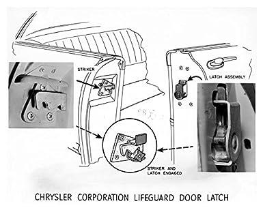 195 Chrysler Lifeguard Door Latch Factory Photo  sc 1 st  Amazon.com & Amazon.com: 195 Chrysler Lifeguard Door Latch Factory Photo ... pezcame.com