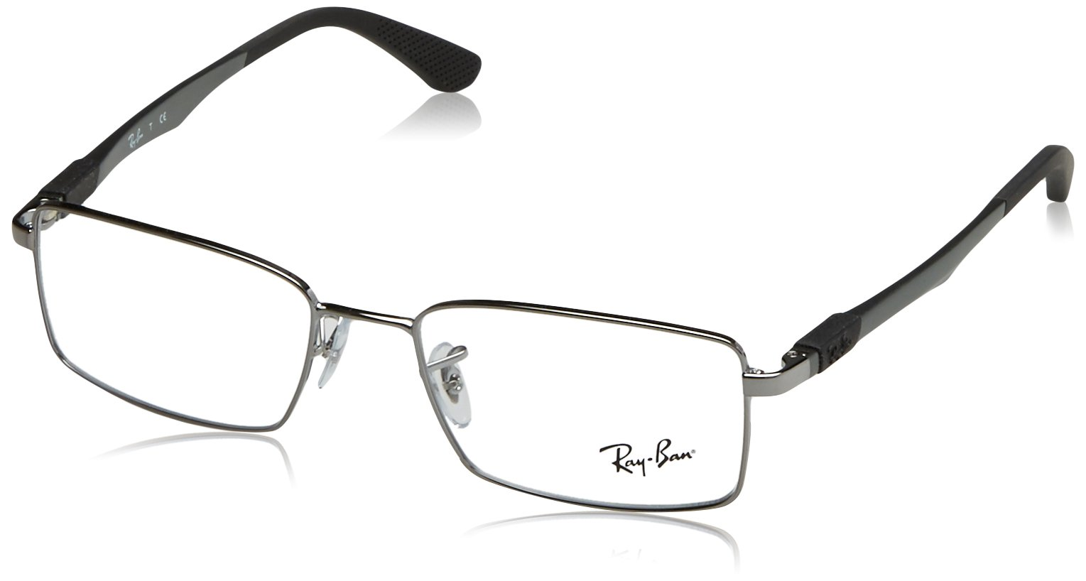 Ray-Ban Men's RX6275 Eyeglasses Gunmetal 52mm by Ray-Ban
