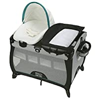 Graco Pack 'n Play Playard Quick Connect Portable Napper with Bassinet, Darci...