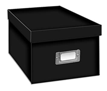 pioneer photo albums bcd1blk cddvd storage box black