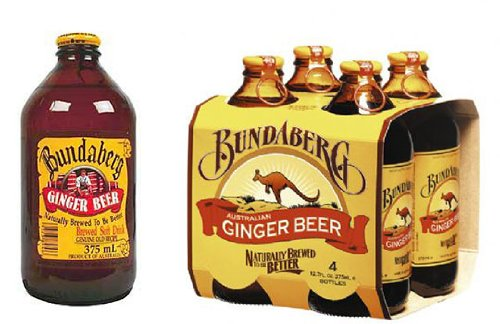 Bundaberg Ginger Beer Non-alcoholic Beverage (Australia) 12-pack 375ml Alcoholic Ginger Beer