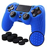 Pandaren STUDDED Anti-slip Silicone Cover Skin Set for Sony Playstation 4/PS4/PS4 Slim/PS4 Pro Controllers(Blue controller skin x 1 + FPS PRO Thumb Grips x 8) Review
