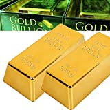 Confeco - Gold Bar Plastic Golden Paperweight