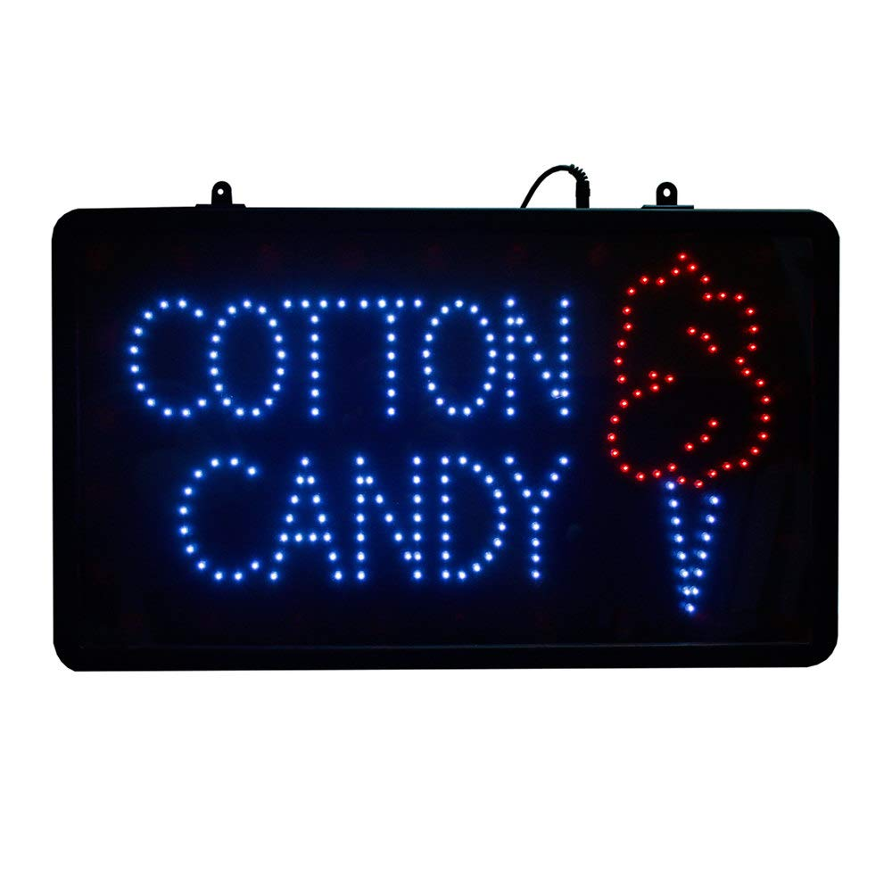 Table Top King 1096 LED Cotton Candy Sign