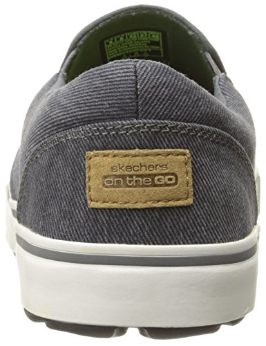 Skechers Ytelse Menns Gå Vulc Breakway Slip-on Sneaker Kull