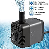 Ankway Upgraded Submersible Water Pump