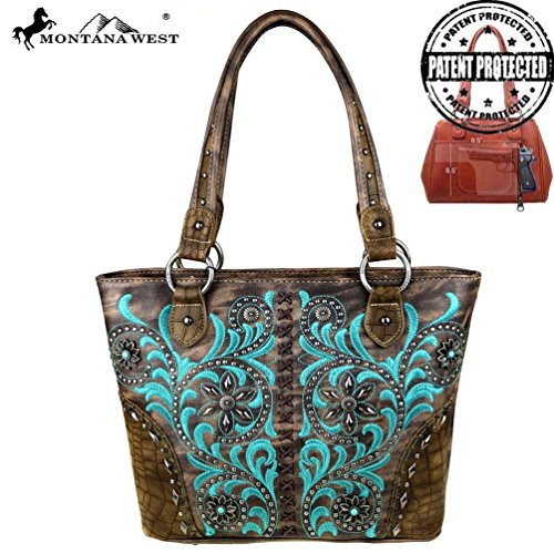 Concho Collection (MW410G-8317 Montana West Concho Collection Concealed Handgun Tote)