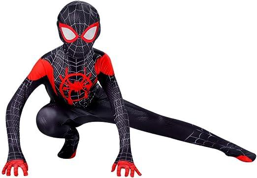 ASJUNQ Spiderman Disfraz De Hombre Araña Guerra Cuántica Niños ...