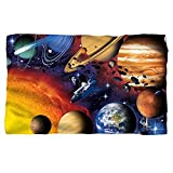 Solar System -- Fleece Throw Blanket (36''x58'')